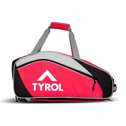 Tyrol Club Pickleball Bag (Red/Black) - RacquetGuys