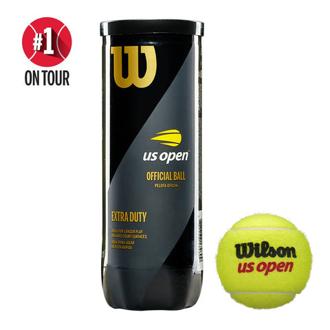 Wilson US Open Regular Duty Tennis Balls - RacquetGuys