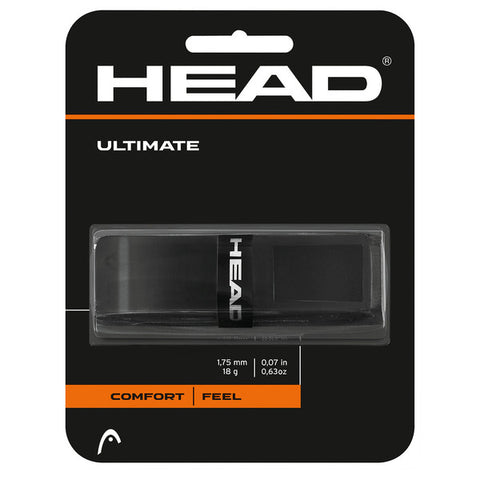 Head Ultimate Replacement Grip (Black) - RacquetGuys.ca