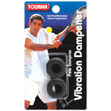 Tourna Pete Sampras Vibration Dampener (Black) - RacquetGuys.ca