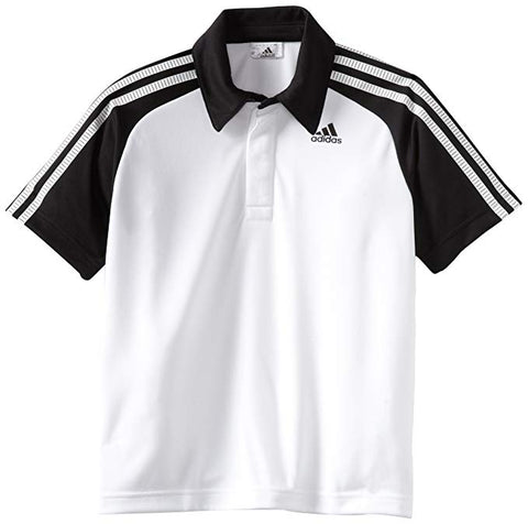 adidas Boy's Response Traditional Polo - RacquetGuys