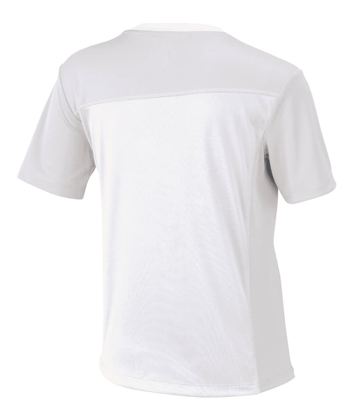 Wilson Boys Rush Colorblock Top (White) - RacquetGuys