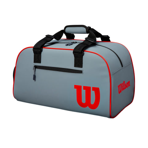 Wilson Clash Duffel Bag (Grey/Black/Infrared) - RacquetGuys