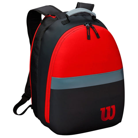 Wilson Clash Junior Racquet Backpack (Infrared/Grey/Black) - RacquetGuys