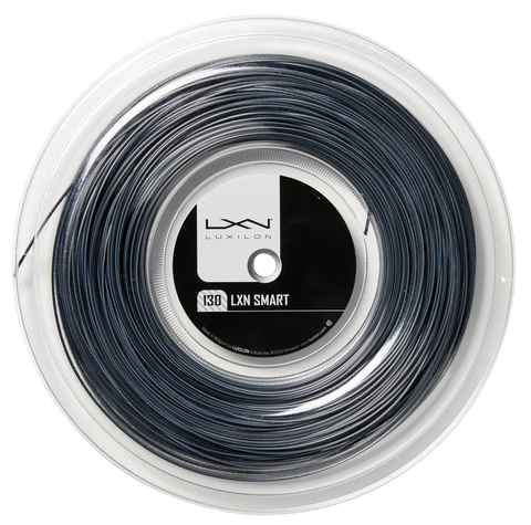 Luxilon Smart 16 Tennis String Reel (Black/White) - RacquetGuys