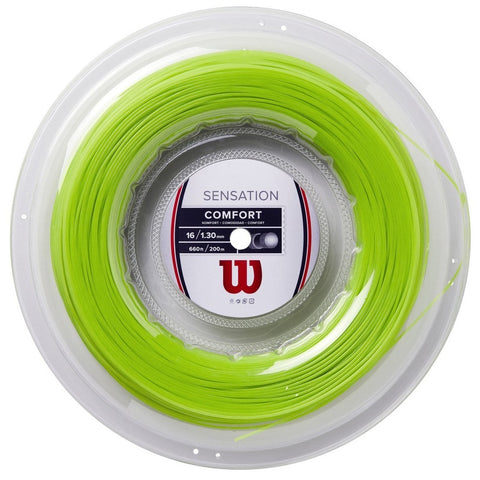 Wilson Sensation 16 Tennis String Reel (Green) - RacquetGuys