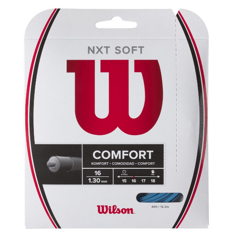 Wilson NXT Soft 16 Tennis String (Blue) - RacquetGuys
