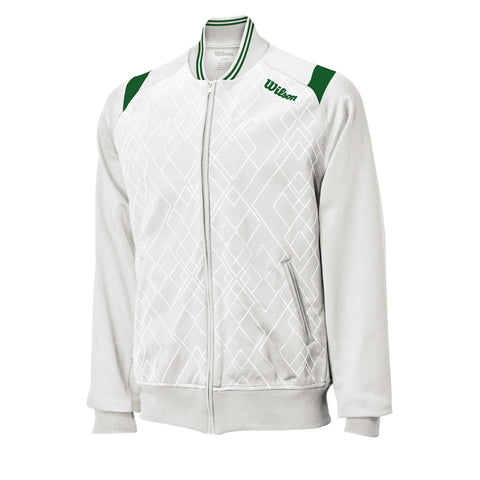 Wilson Mens Country Club Jacket (White) - RacquetGuys