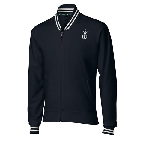 Wilson Mens Hall of Fame Jacket (Navy/White)