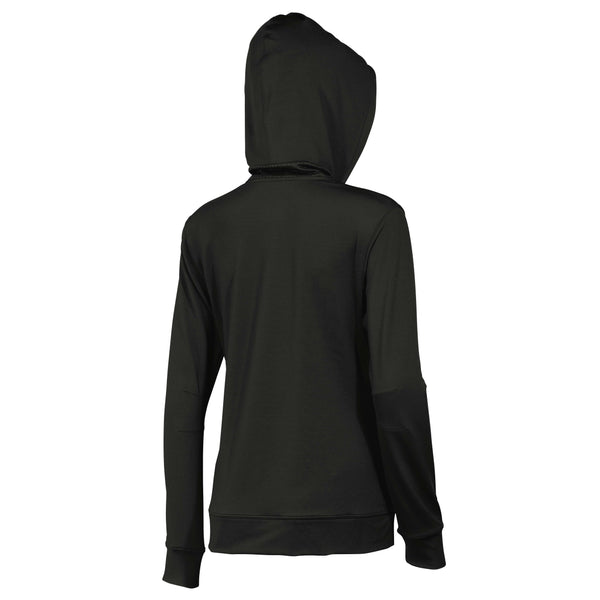 Wilson Womens Yarra Knit Jacket (Black) - RacquetGuys