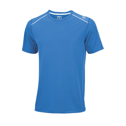 Wilson Mens nVision Elite Top (Blue) - RacquetGuys