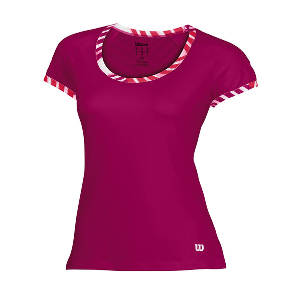 Womens Tulip Top (Pink) - RacquetGuys