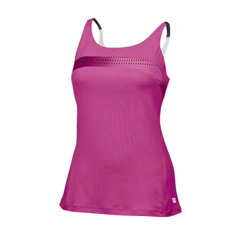 Wilson Womens Color Flight Strappy Tank Top
