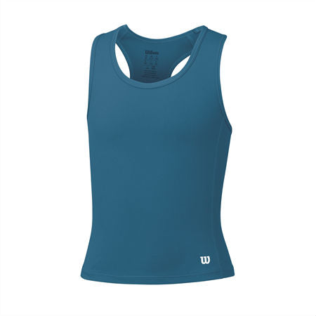 Wilson Girls Rush Tank Top (Ultramarine) - RacquetGuys