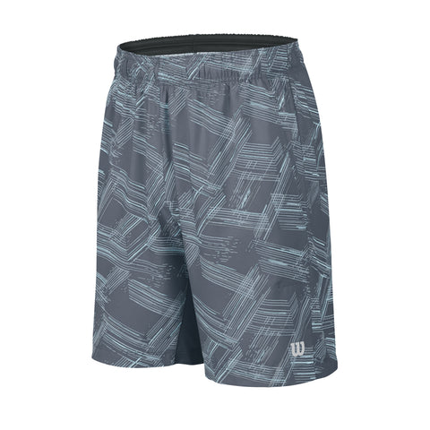 Wilson Boys Summer Perpective Print 8 Inch Shorts (Coal)