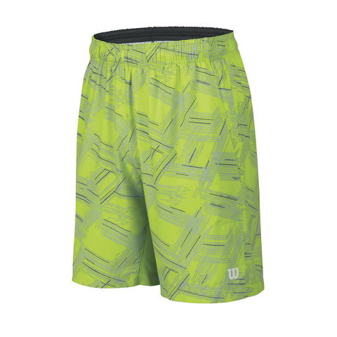 Wilson Boys Summer Perpective Print 8 Inch Shorts (Green)