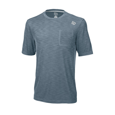 Wilson Mens Textured Top - RacquetGuys
