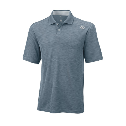 Wilson Mens Textured Polo - RacquetGuys