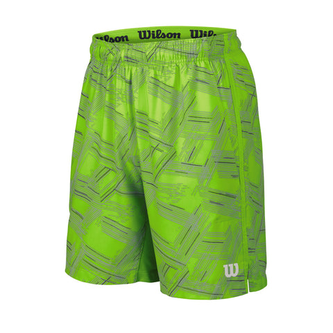 Wilson Mens Summer Perspective Print 8 Inch Shorts (Green)