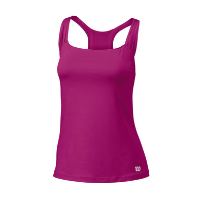 Wilson Womens Core Classic Tank Top (Rose Violet)