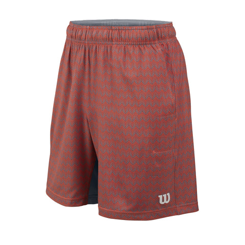 Wilson Boys Labyrinth 7 Inch Shorts (Coral) - RacquetGuys