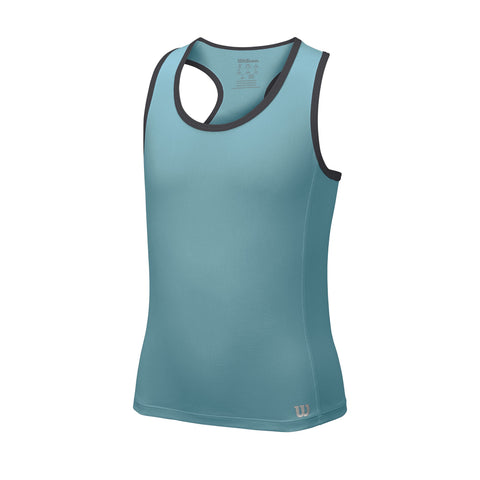 Wilson Girls Core Tank Top (Teal) - RacquetGuys.ca