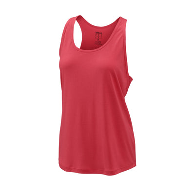 Wilson Womens Core Condition Tank Top (Fiery Coral)