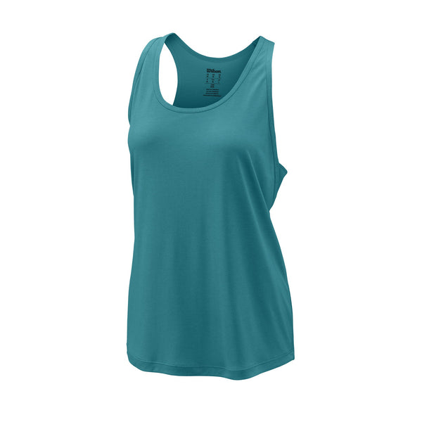 Wilson Womens Core Condition Tank Top (Bluebird) - RacquetGuys