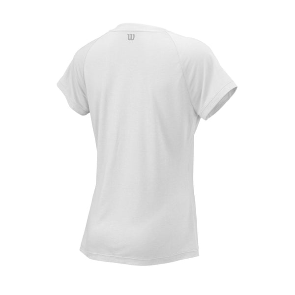 Wilson Womens Condition Top (White) - RacquetGuys