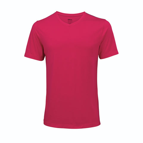 Wilson Mens Condition Top (Bright Rose) - RacquetGuys
