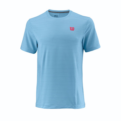 Wilson Mens UWII Linear Crew (Airy Blue) - RacquetGuys
