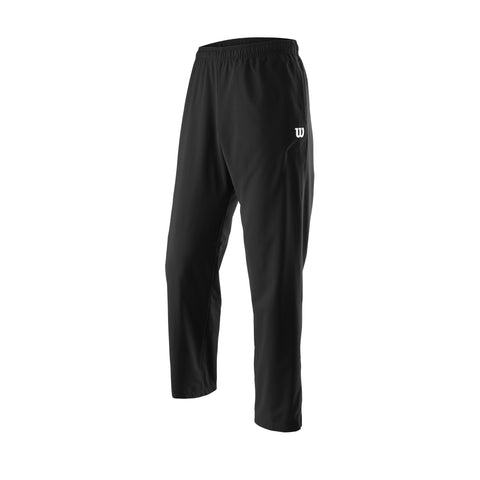 Wilson Mens Team Woven Pants (Black) - RacquetGuys