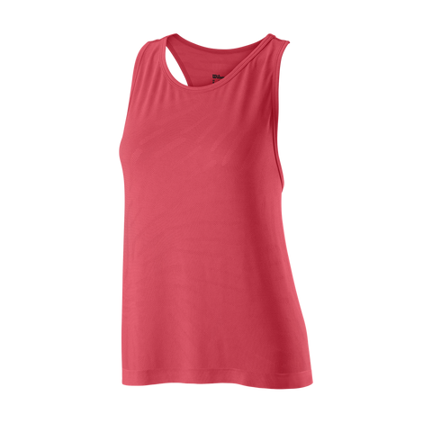 Wilson Women's Competition Seamless Tank Top (Holly Berry) - RacquetGuys