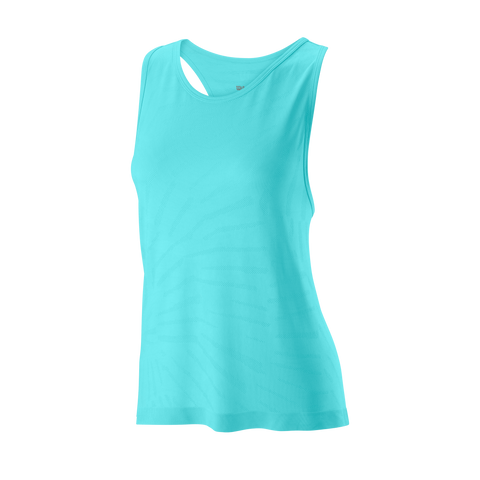 Wilson Women's Competition Seamless Tank Top (Island Paradise) - RacquetGuys