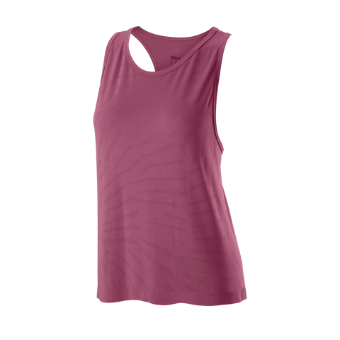 Wilson Women's Competition Seamless Tank Top (Plum) - RacquetGuys