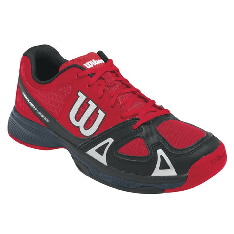 Wilson Rush Pro Junior Tennis Shoe (Red/Black) - RacquetGuys.ca