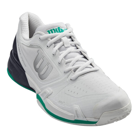 Wilson Rush Pro 2.5 Men's Tennis Shoe (White/Green) - RacquetGuys.ca