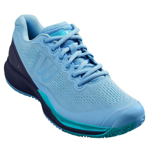 Wilson Rush Pro 3.0 Women's Tennis Shoe (Blue) - RacquetGuys