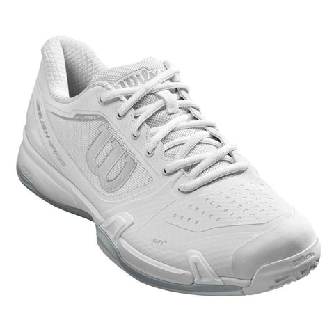 Wilson Rush Pro 2.5 Men's Tennis Shoe (White/Pearl Blue) - RacquetGuys