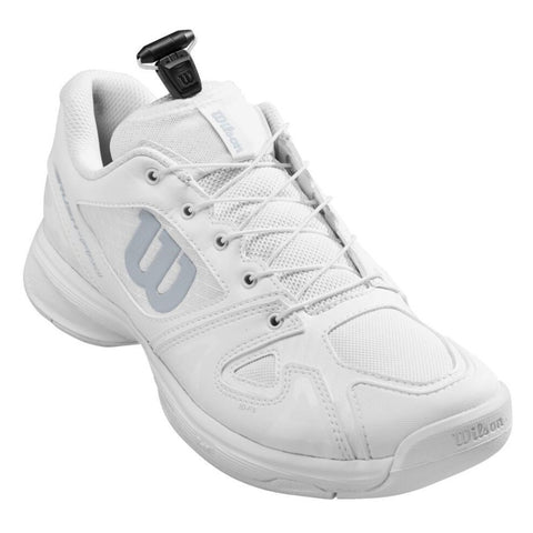 Wilson Rush Pro QL Junior Tennis Shoe (White) - RacquetGuys.ca