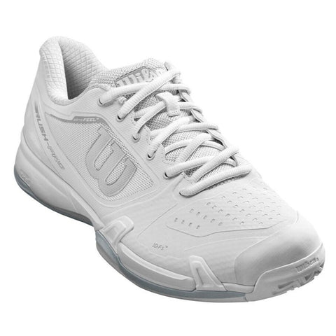 Wilson Rush Pro 2.5 Women's Tennis Shoe (White) - RacquetGuys.ca