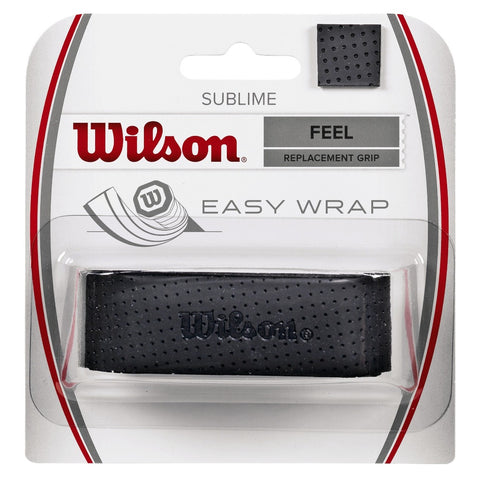 Wilson Sublime Replacement Grip (Black) - RacquetGuys.ca