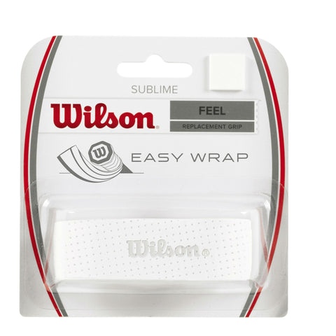 Wilson Sublime Replacement Grip (White) - RacquetGuys