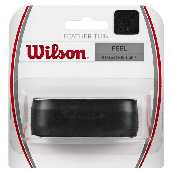Wilson Featherthin Replacement Grip (Black) - RacquetGuys