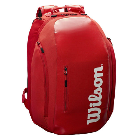 Wilson Super Tour Racquet Backpack (Infared)