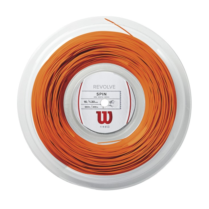 Wilson Revolve 16 Tennis String Reel (Orange) - RacquetGuys.ca