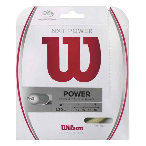 Wilson NXT Power 16 Tennis String - RacquetGuys