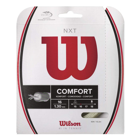 Wilson NXT 16 Tennis String (Natural) - RacquetGuys