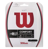 Wilson NXT 16 Tennis String (Black)