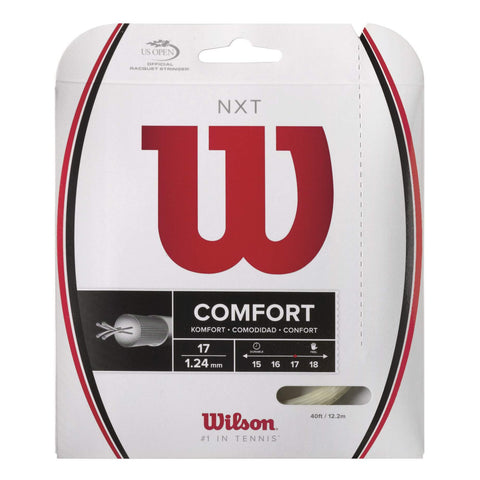 Wilson NXT 17 Tennis String (Natural) - RacquetGuys.ca